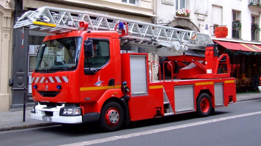 Bons-en-Chablais : un véhicule en feu