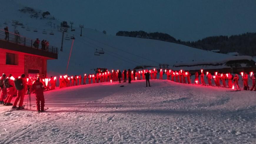 Les moniteurs de ski mobilisés samedi soir