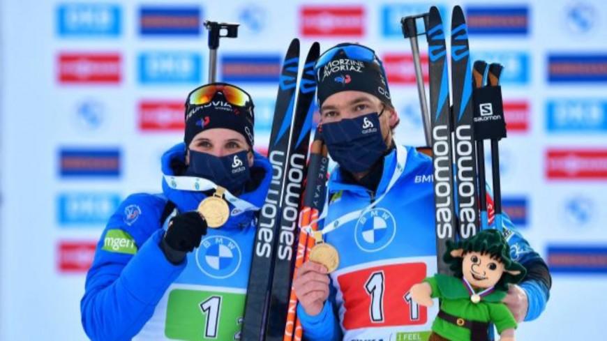 Biathlon : médaille d'or pour la France !