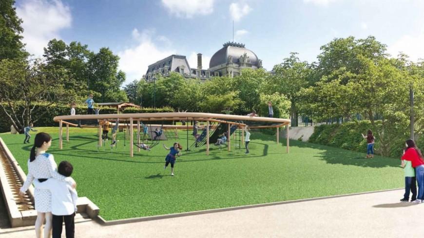 Lausanne renouvèle ses aires de jeux