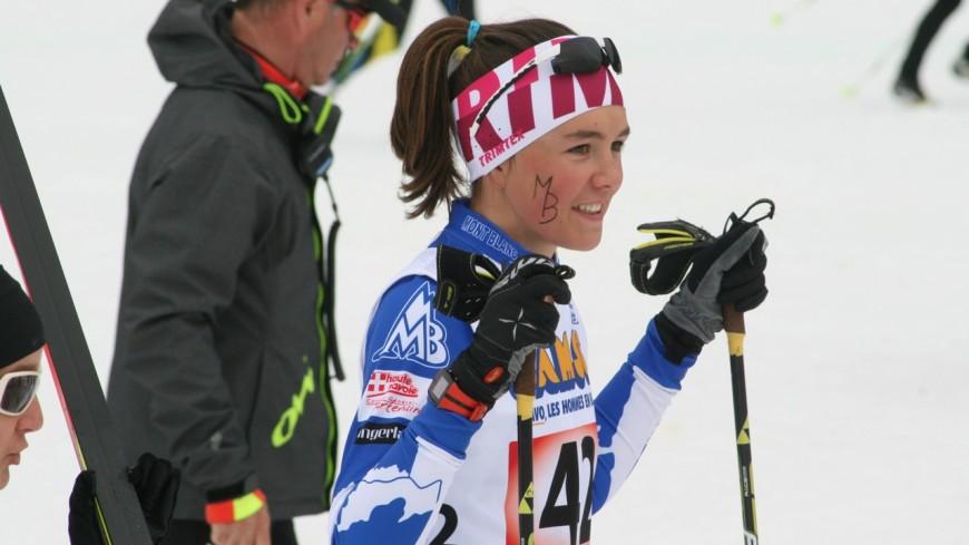 Chablais : une championne du monde junior