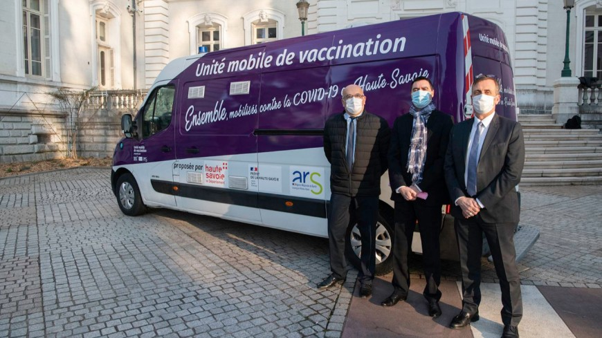 Médiateurs à Evian, unité mobile à Saint-Gervais