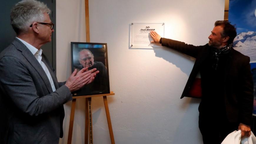Saint-Gervais rend hommage à Brasseur