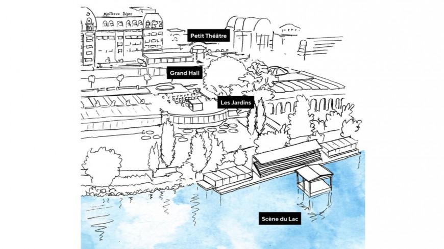 Montreux Jazz : une scène sur le lac !