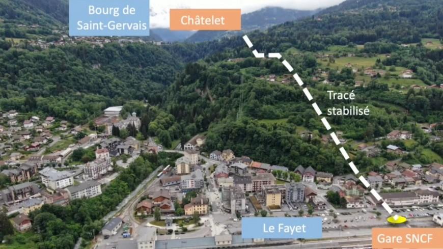 Un projet d'ascenseur valléen à Saint-Gervais