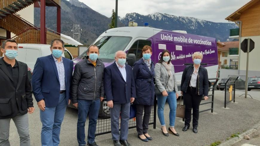 Journée de vaccination Covid dans la Vallée du Brevon (interview)