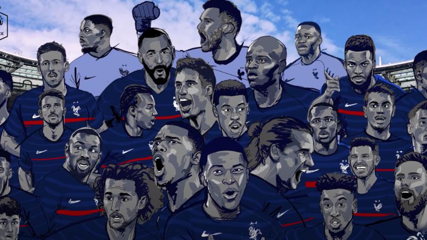 Découvrez l'hymne des bleus pour l'Euro 2020 ! (vidéo)