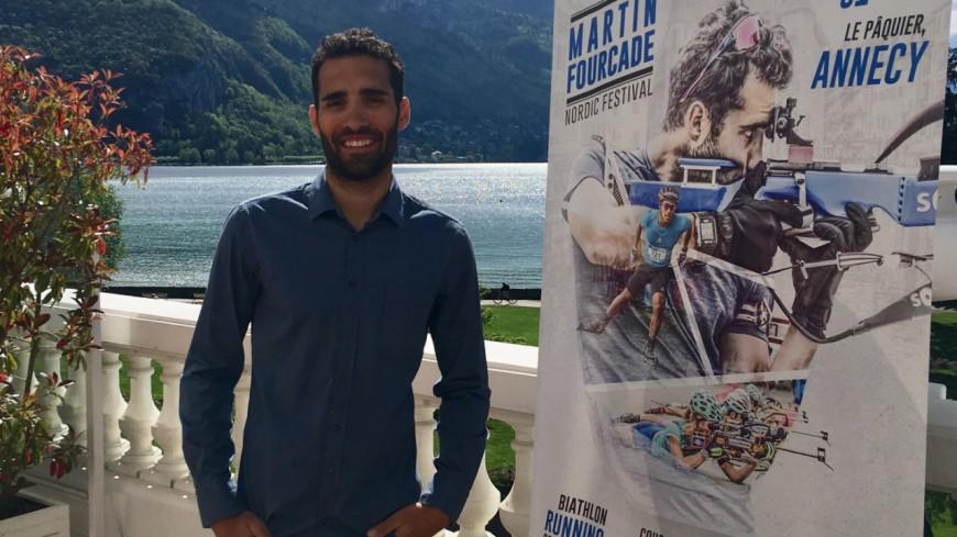 Martin Fourcade à Annecy en septembre