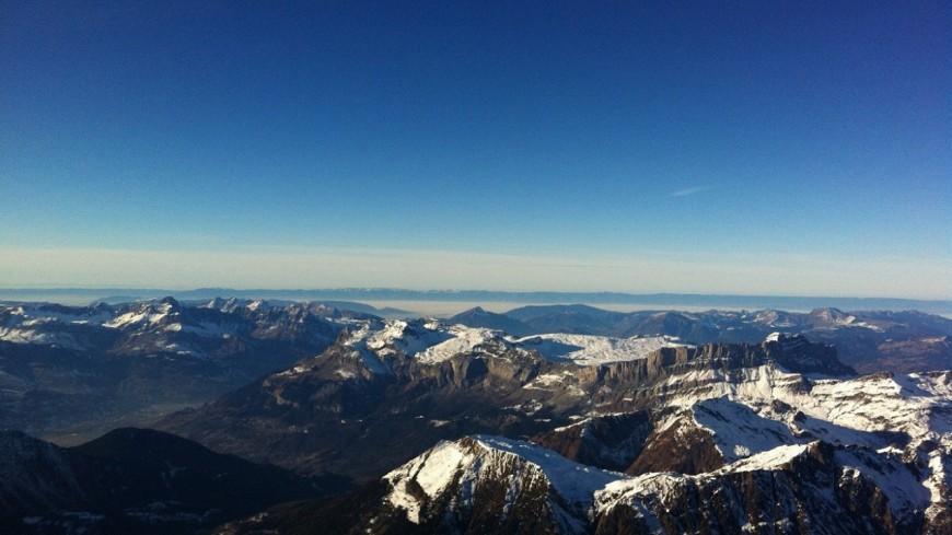 Moins de survols du Mont-Blanc en avion