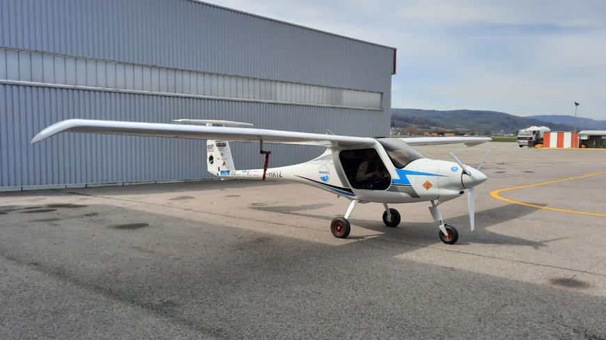 Un 1er vol électrique au-dessus du Mont-Blanc !