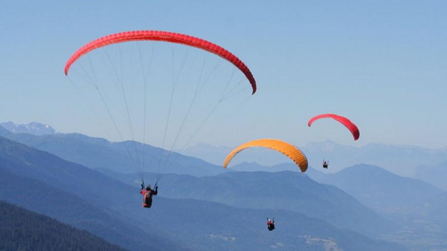 Un accident de parapente dans le Mont-Blanc