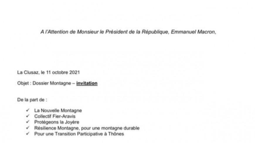 « Sauvons Beauregard » écrit à E. Macron