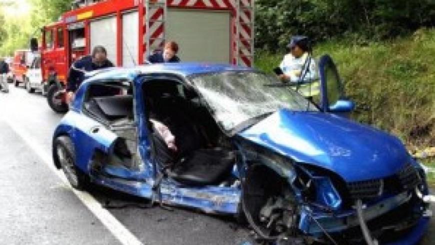 Une simulation d'accident à Lausanne