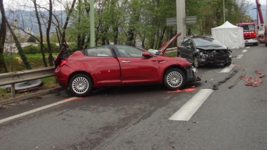 Un grave accident de la route en Haute-Savoie