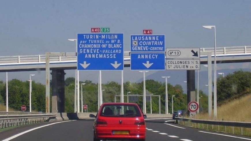 Autoroute A 40, réouverture de l'accès au diffuseur N° 14 le 19 août