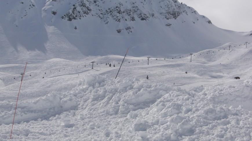 Nouvelle coulée de neige en  Savoie