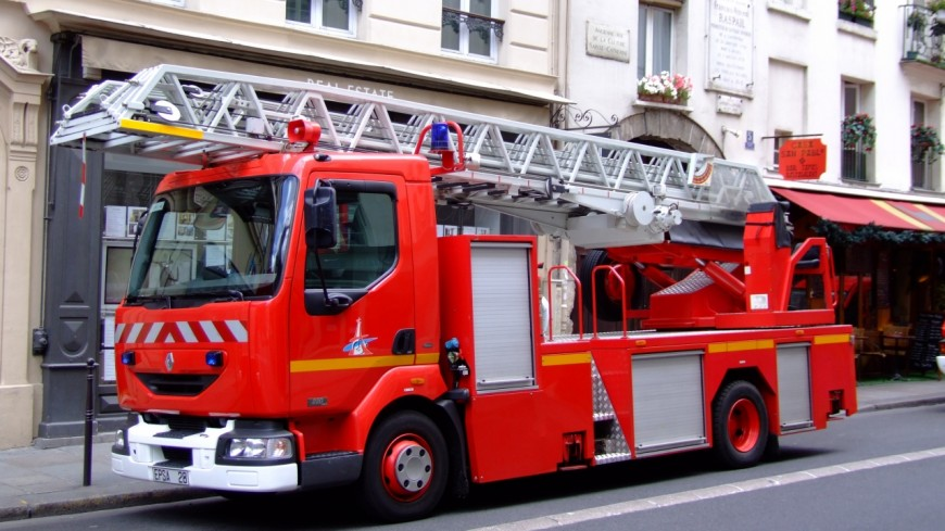Un feu à Rumilly vendredi après-midi