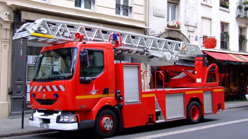 Un feu de cuisine à Thyez lundi matin