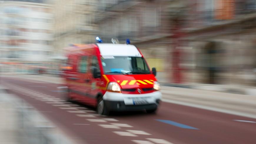 Un accident sur le col d'Evires à Eteaux