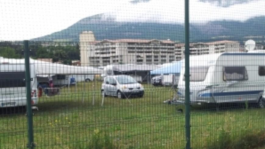 Une centaine de caravanes ont été évacuées