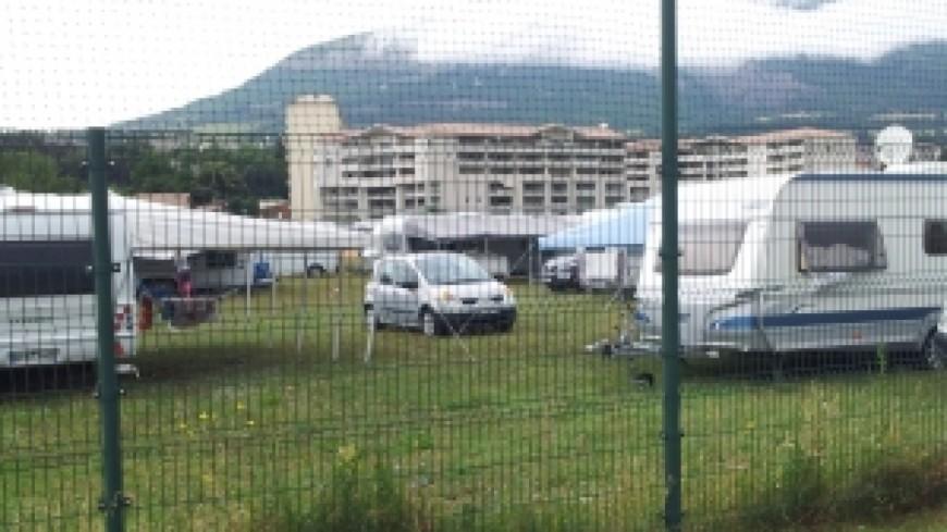 Annemasse : L'évacuation de l'aire des Rosses remise