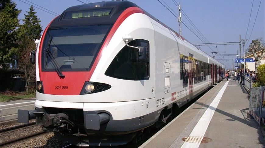 Léman Express : 1ers km sur le territoire Suisse