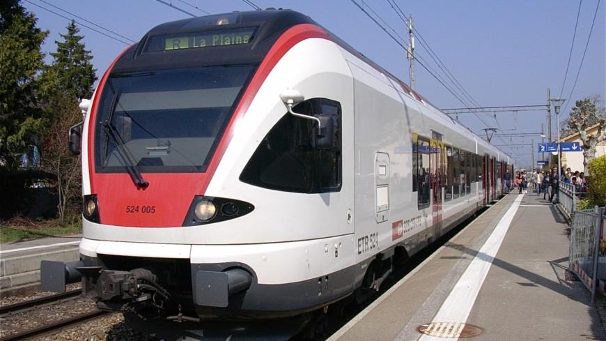 Lausanne Genève : des perturbations sur les rails