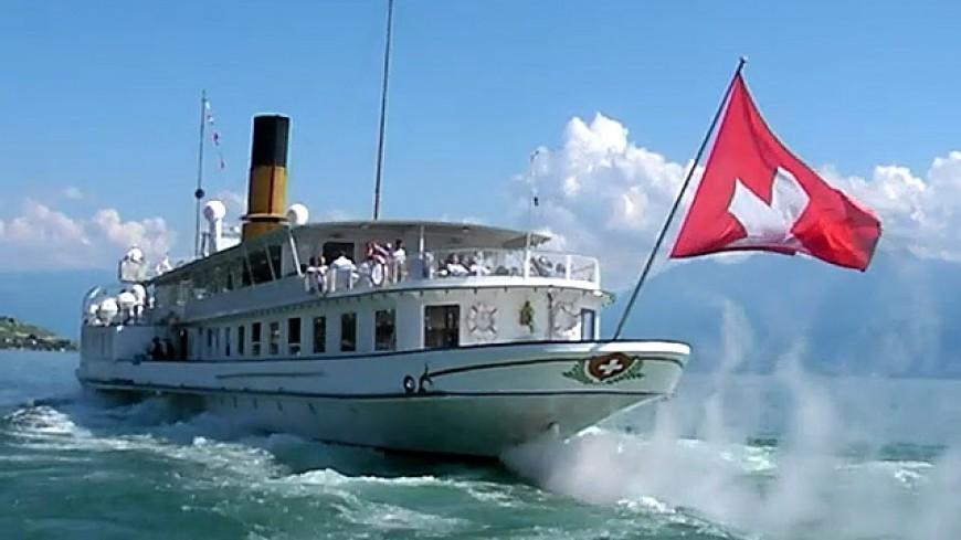 Les bateaux de la CGN circulent ce mercredi