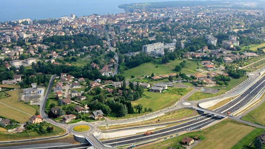 une opération escargot en Haute-Savoie