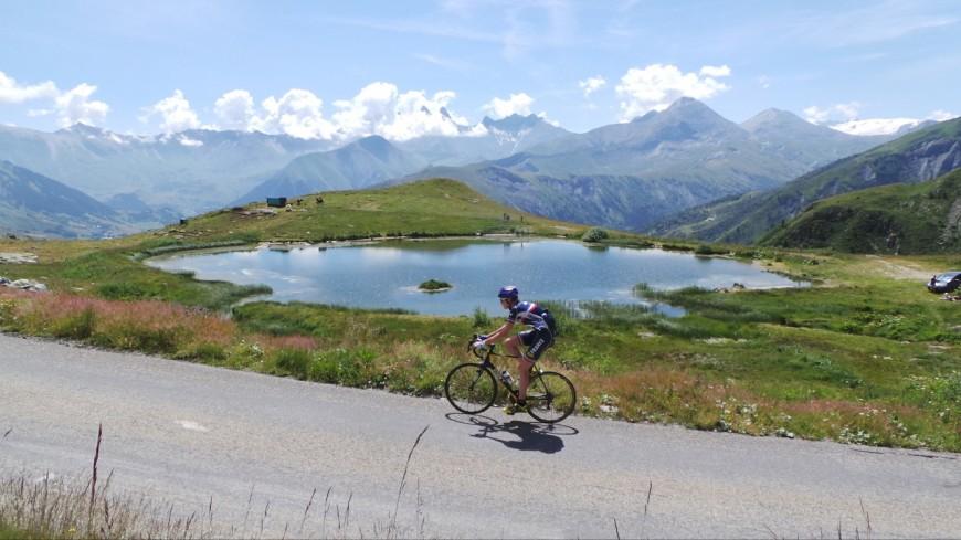 L'équipe de France espoir de cyclisme en Savoie