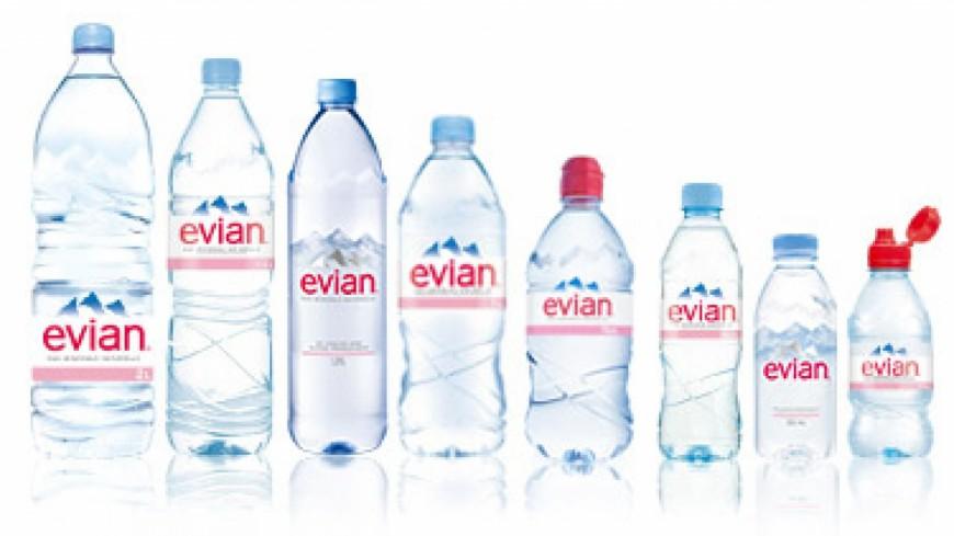 L'eau en bouteille d'Evian serait contaminée