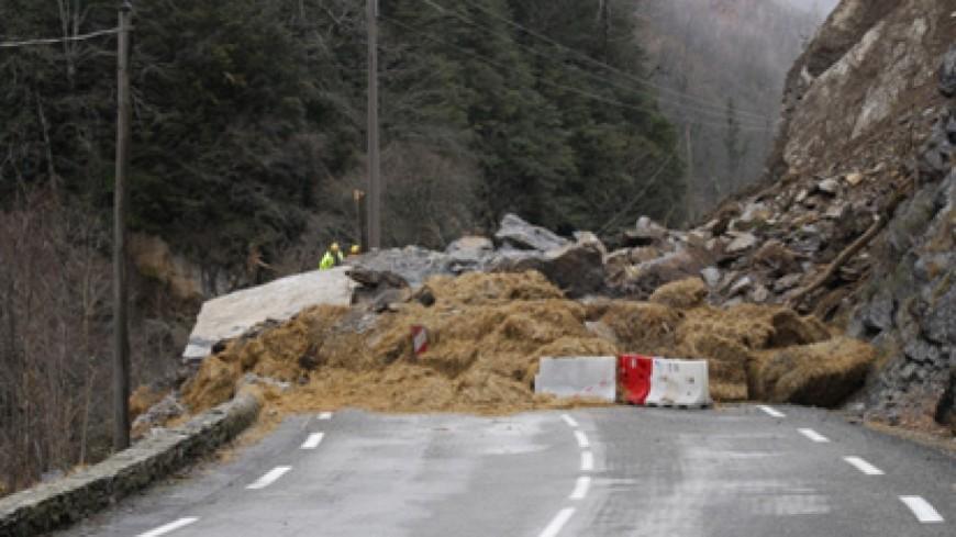 Réouverture de la route dans leVal d'Arly