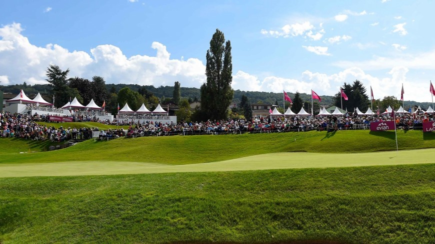 Evian, capitale mondiale du golf féminin