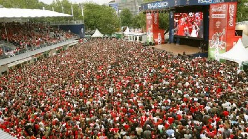 Nouveau succès pour la Fan zone de Genève