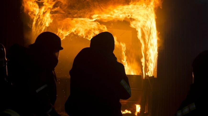 Impressionnant incendie au camping de Samoëns