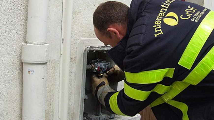 Canalisation de gaz arrachée à Cran-Gevrier