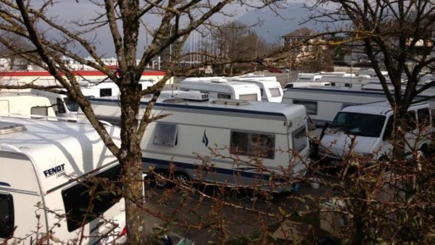 Haute-Savoie : nouvelles installations de caravanes