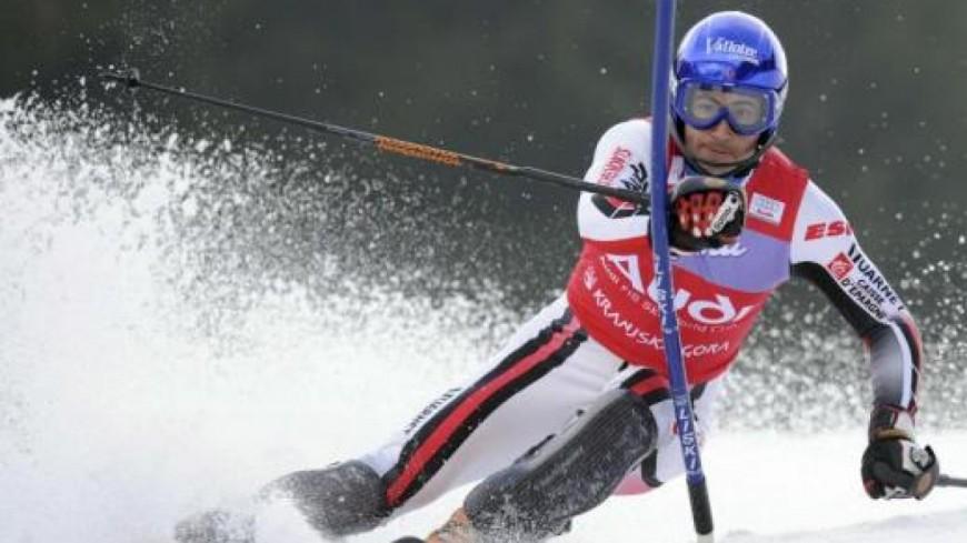 JB Grange 5eme du slalom de Levi