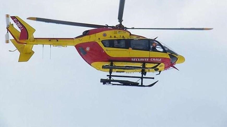 Des hélicoptères dans la campagne genevoise