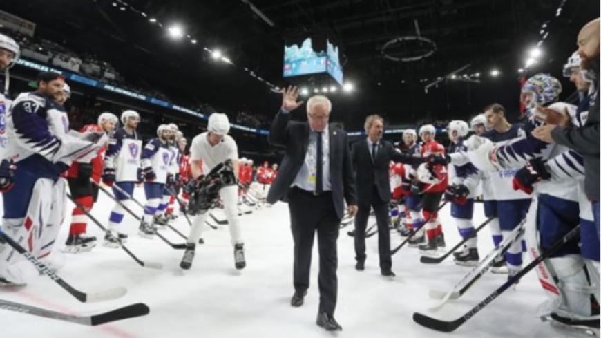 Hockey : la Suisse bat la France et file en quart