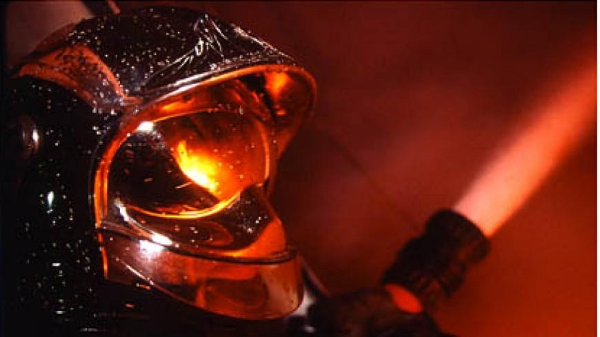Un stock de foin part en fumée à Reignier-Esery