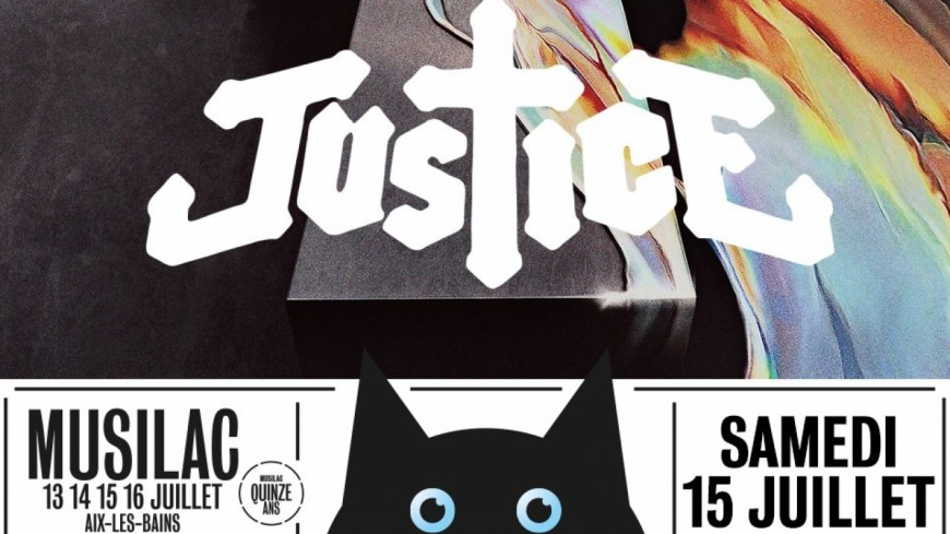 Le groupe Justice à l'affiche de Musilac