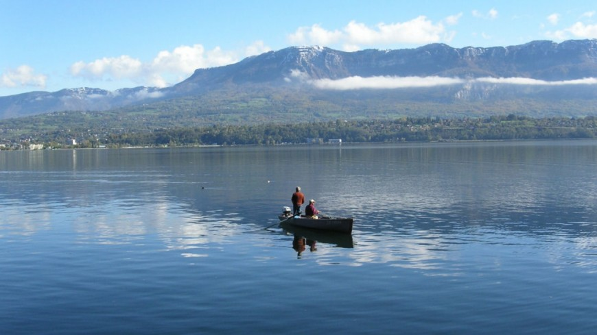 Deux personnes en détresse sur le lac Léman