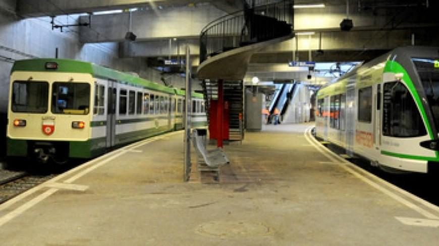 Le LEB sera transformé en RER à Lausanne