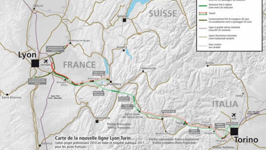 Feu vert définitif pour le Lyon-Turin !