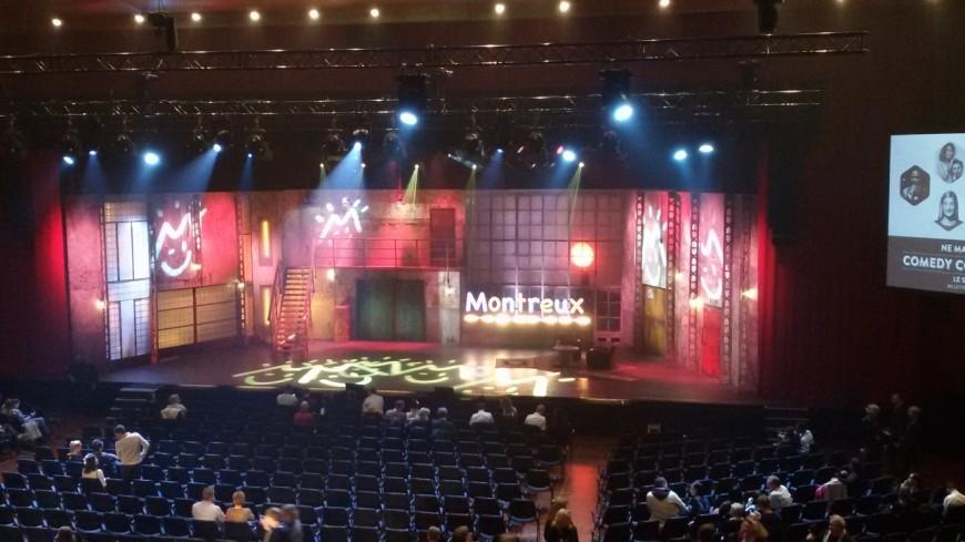 Le Montreux Comedy Festival fin novembre