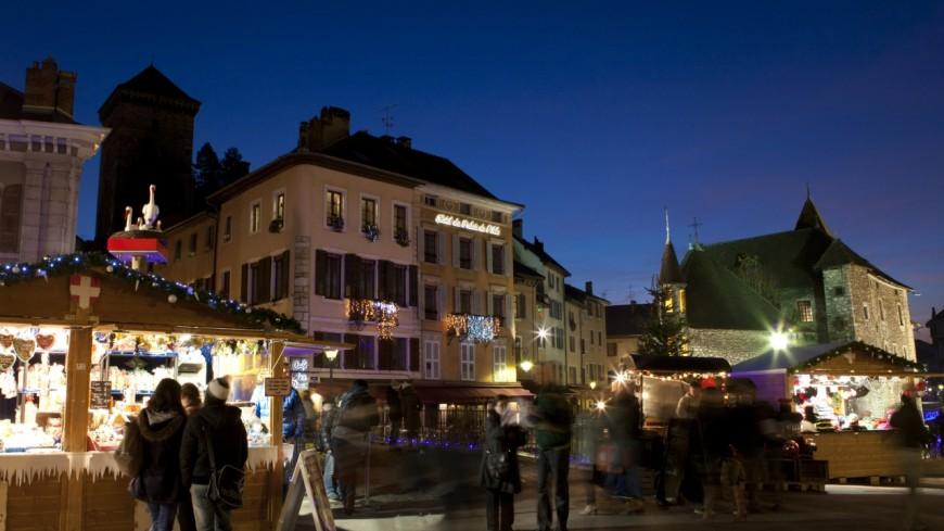 Annecy : coup d'envoi du Noël des Alpes