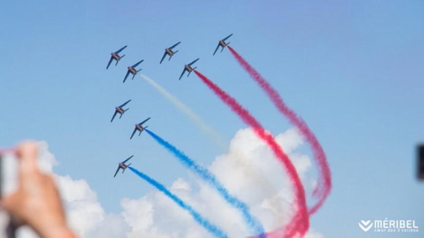 Méribel : défi relevé pour la patrouille de France