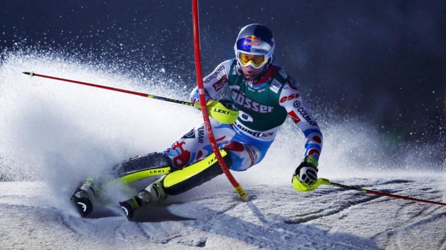 Premier slalom de l'année en Norvège !