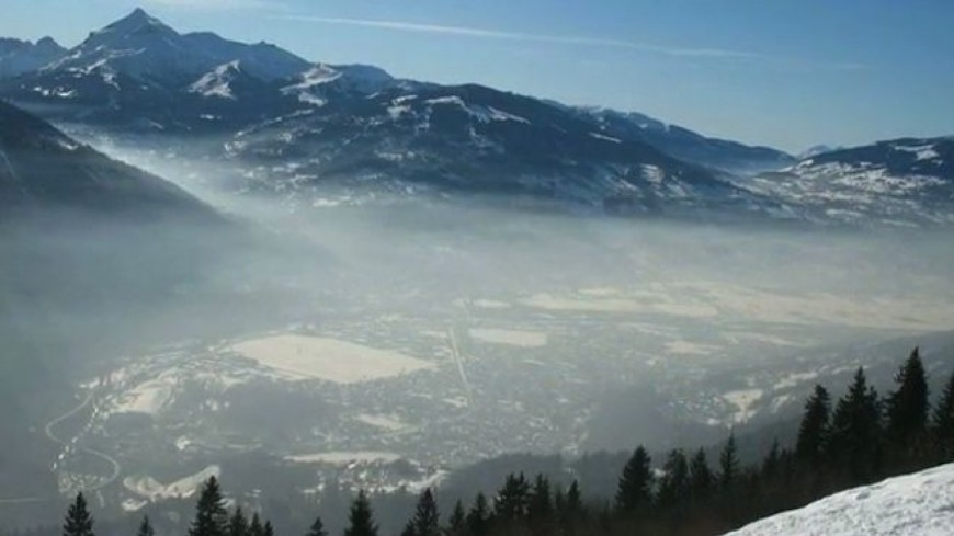 Pollution de l'air : la Haute-Savoie en alerte orange